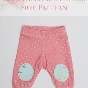 Baby Pants Free Sewing Pattern