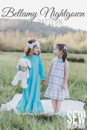 Girls Nightgown Pattern