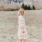 Add Length to a Dress Refashion