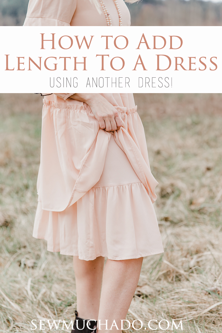 How to Add Length to a Dress
