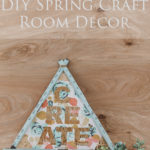 Floral Craft Room Decor