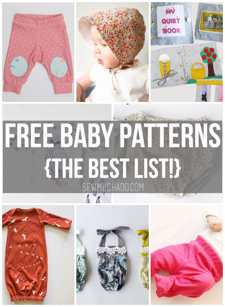 Free Baby Patterns Sew Much Ado