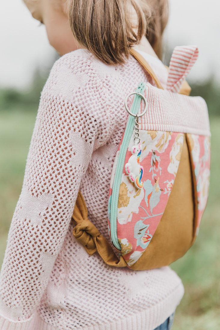 Girl's Backpack Pattern