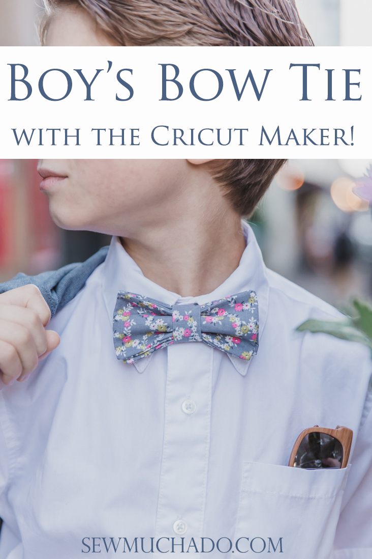 Cricut Maker Bow Tie