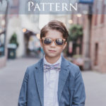Boy's Bow Tie Pattern with Cricut + Simplicity