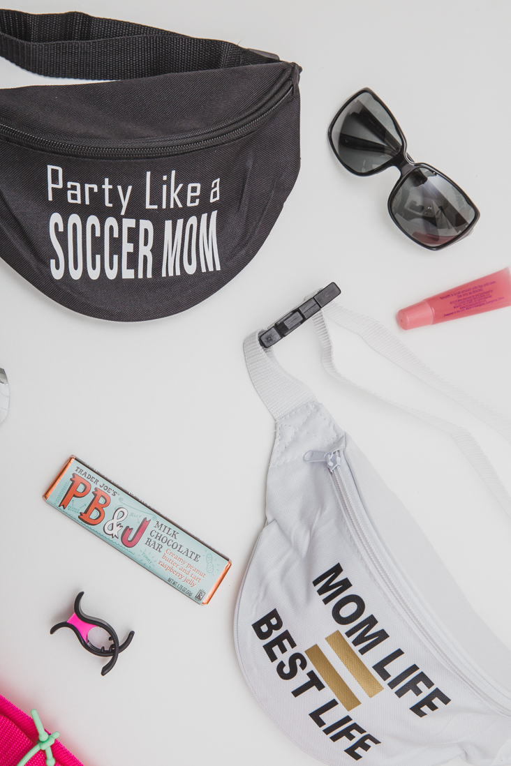 DIY Mom Fanny Packs with Iron-on