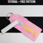 Keychain Chapstick Holder Tutorial