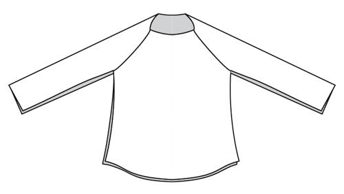 Free Women's Cowl Neck Hoodie Pattern