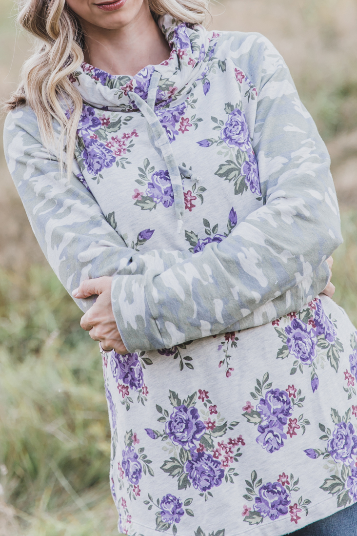 Women's Cowl Neck Hoodie Pattern Free