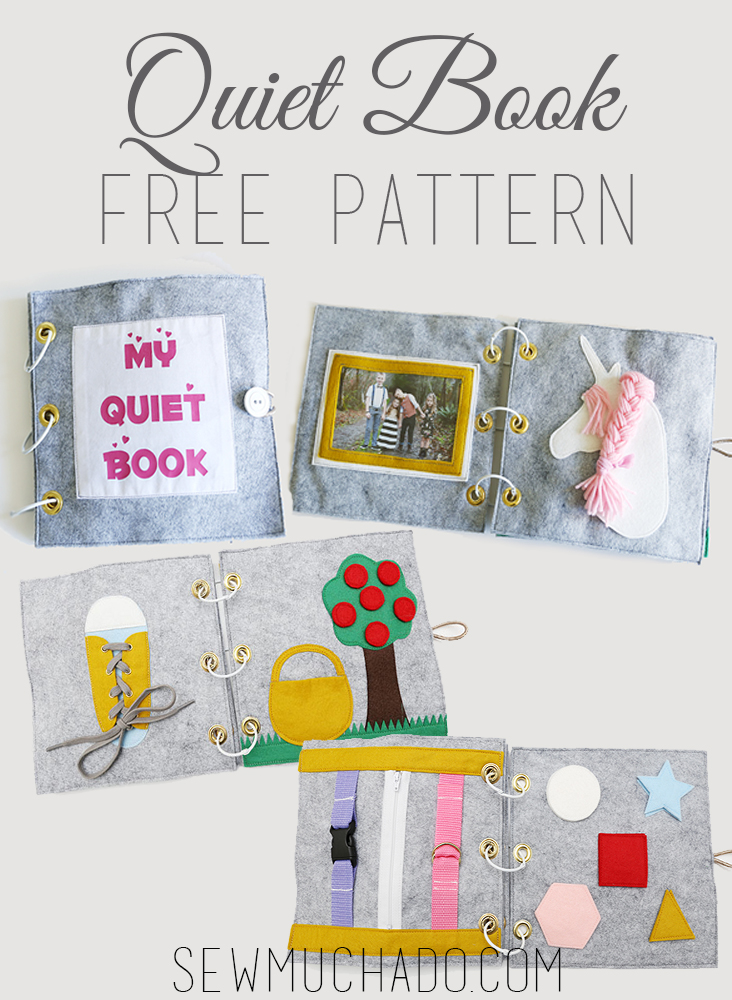 picture relating to Printable Quiet Book Templates identify Cost-free Calm E-book Routine - Sew A lot Ado