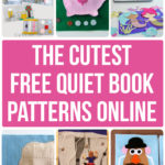 10 Adorable Free Quiet Book Patterns and Templates