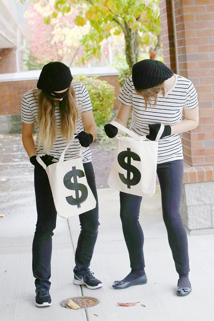 Bank Robber Halloween Costume