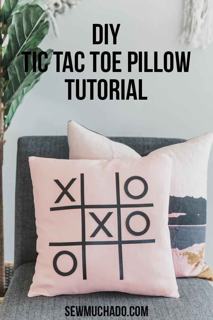DIY Pillow with the Cricut Maker