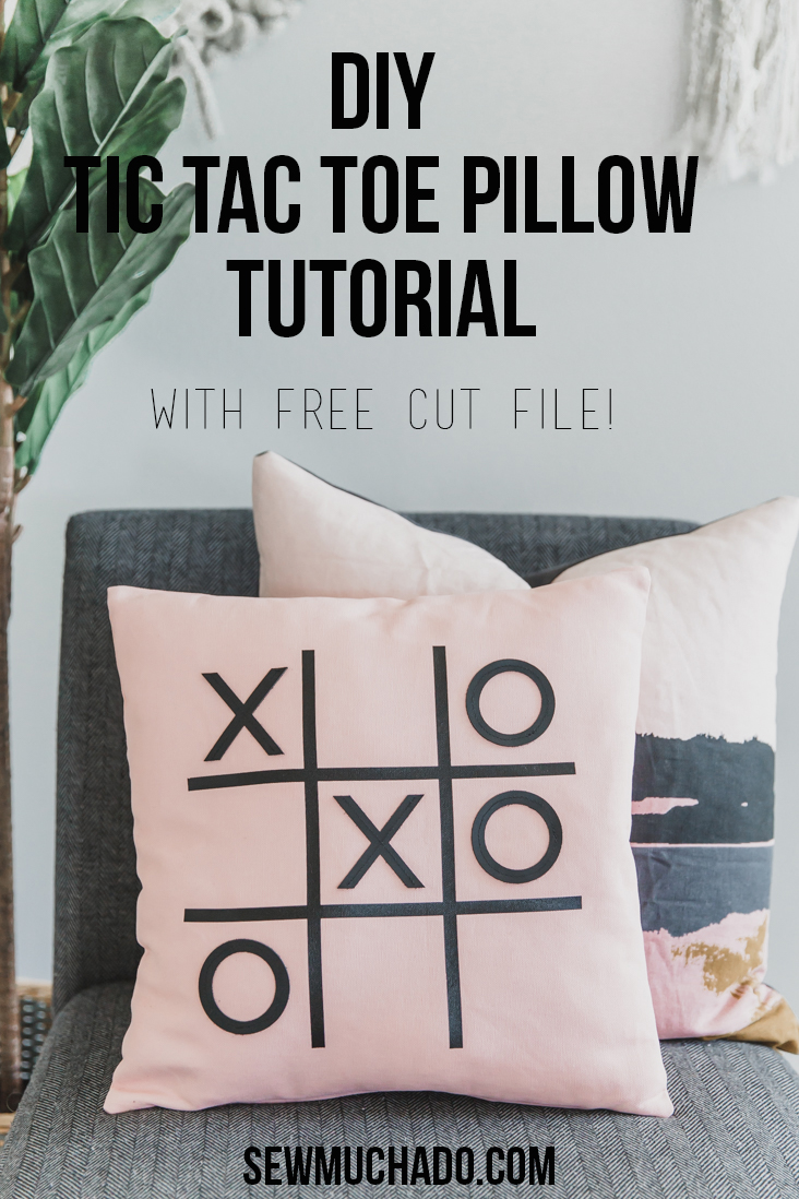 DIY Pillow Tutorial with the Cricut Maker