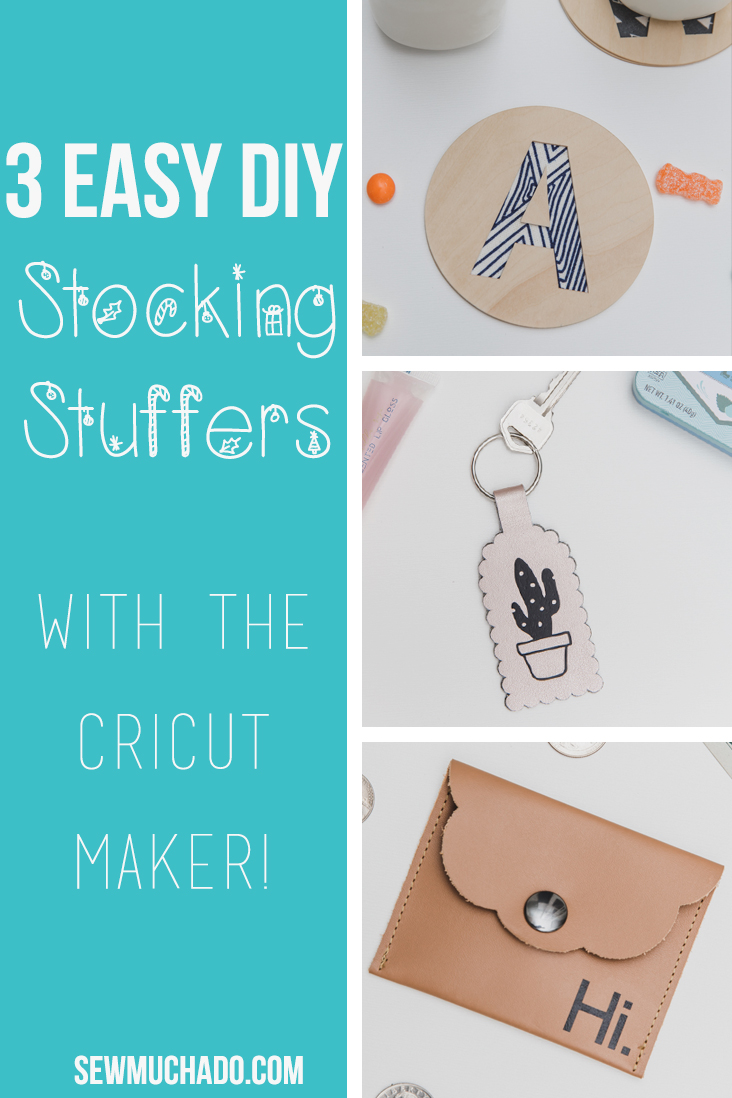 3 Diy Stocking Stuffers To Make With The Cricut Maker Sew