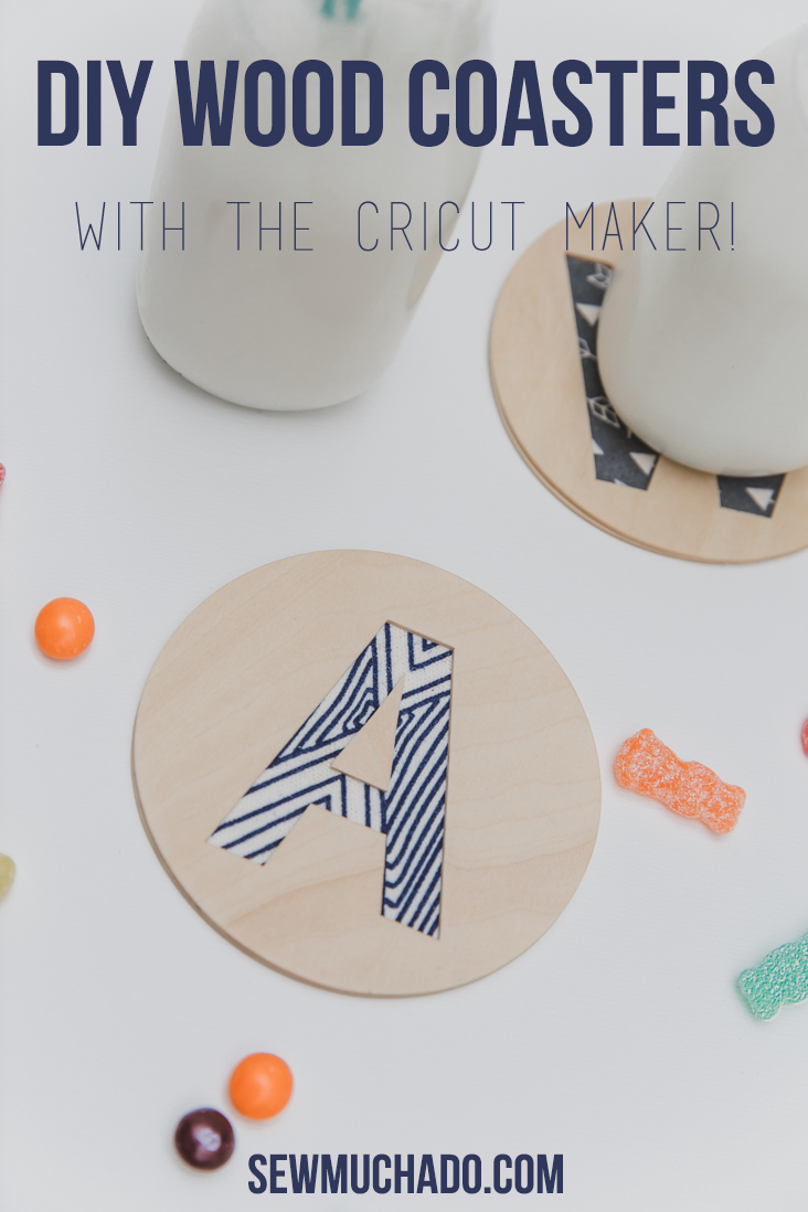 DIY Wood Coaster with the Cricut Maker