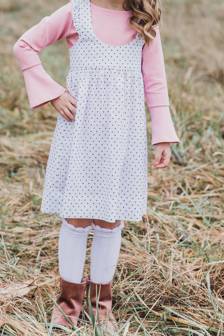Girl's Pinafore Dress Pattern