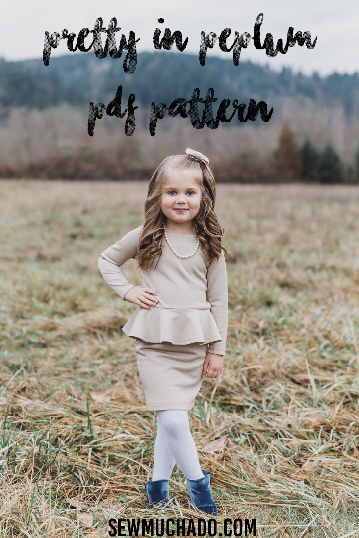 Girl's Christmas Dress Pattern