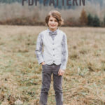Schoolboy Boy's Vest Pattern + Everyday Boy's Necktie Pattern