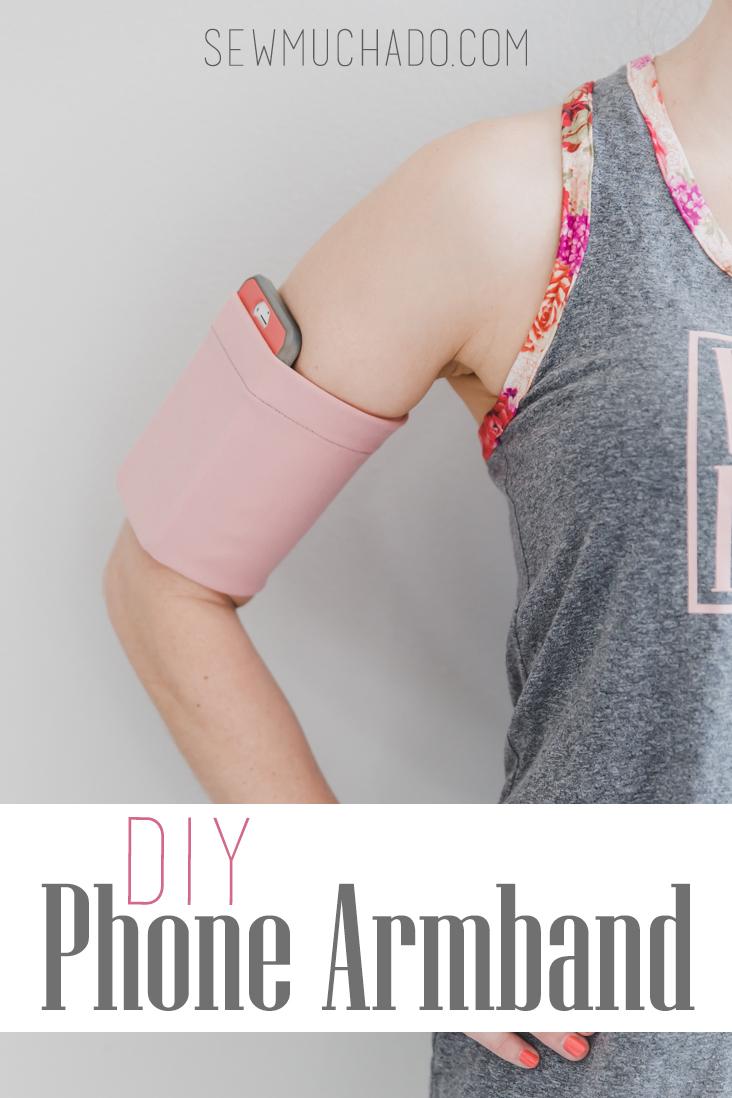 How to Make a Phone Armband