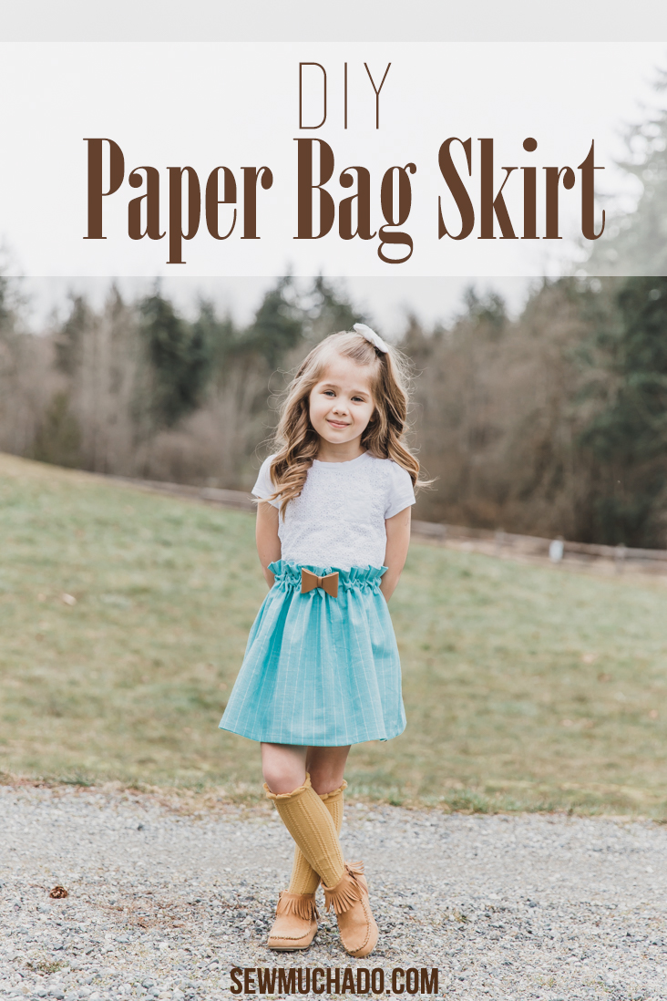 DIY Paper Bag Skirt