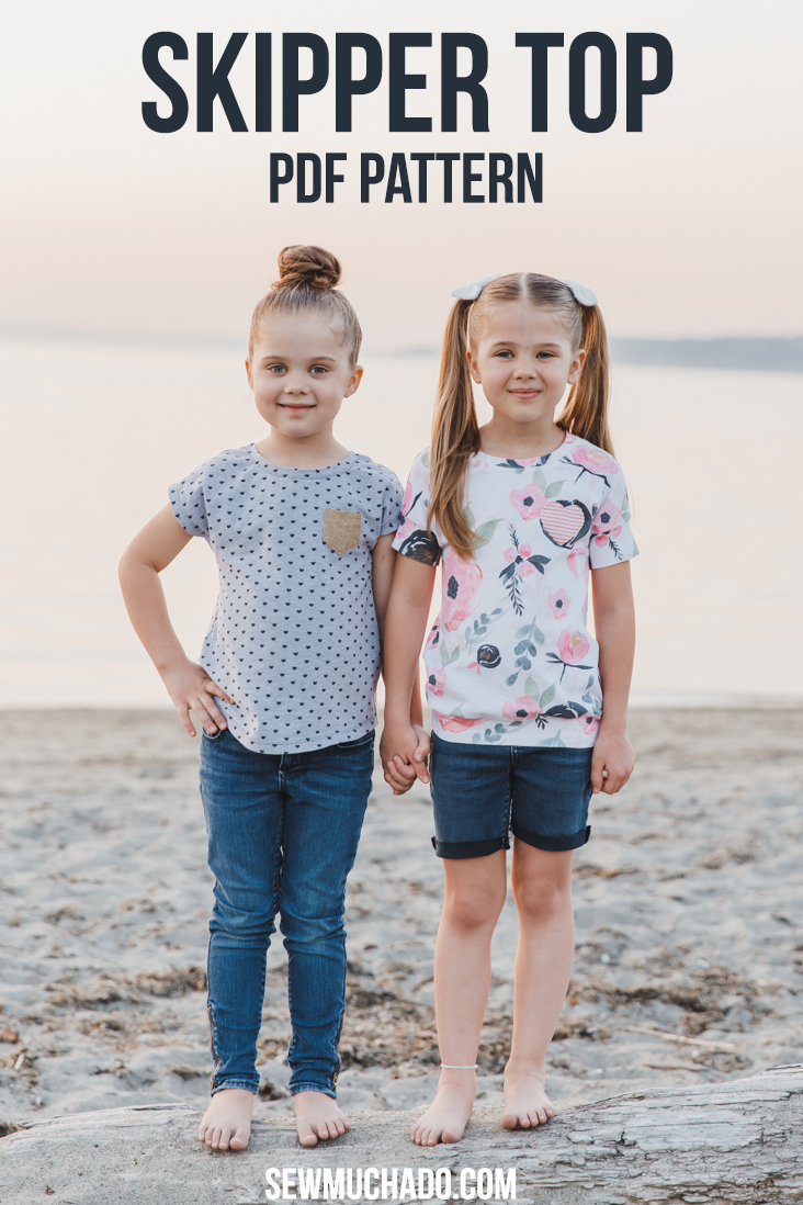Girls Knit T Shirt Pattern
