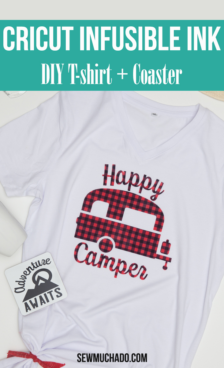 Cricut Infusible Ink Camp Themed Projects