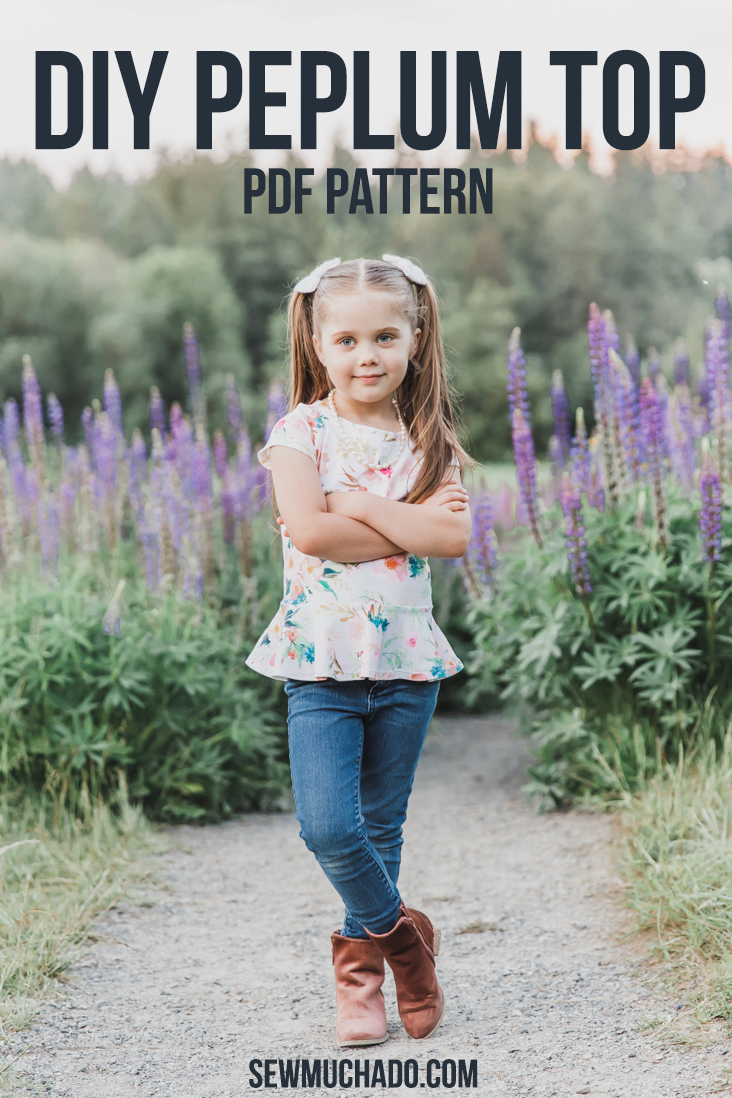 Girls Peplum Top Pattern