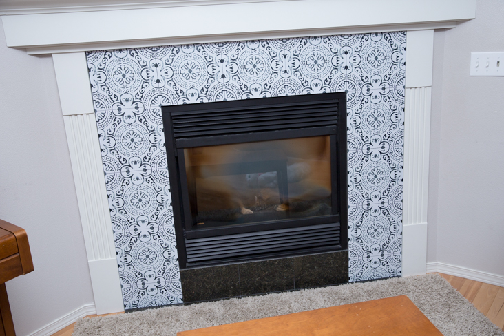 How to Makeover a Fireplace
