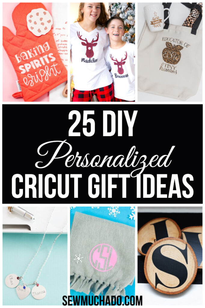 DIY Cricut Holiday Gifts