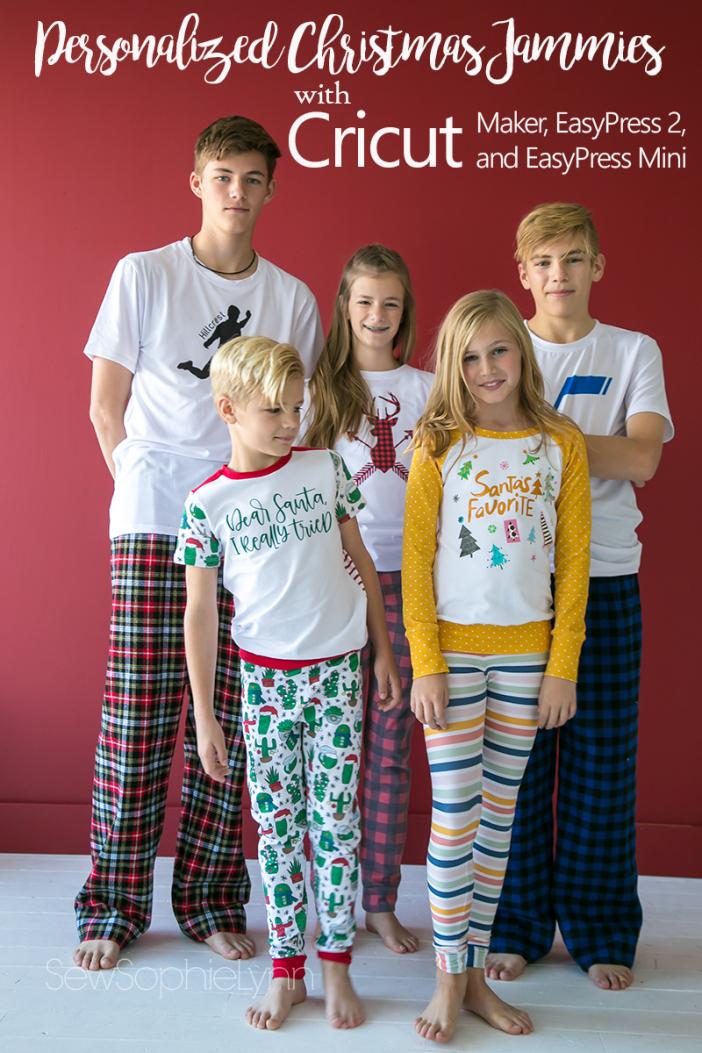Cricut Christmas Pajamas