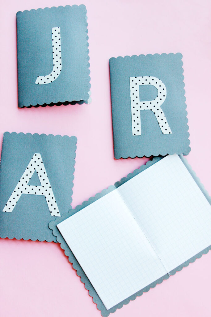 Cricut Monogram Journals