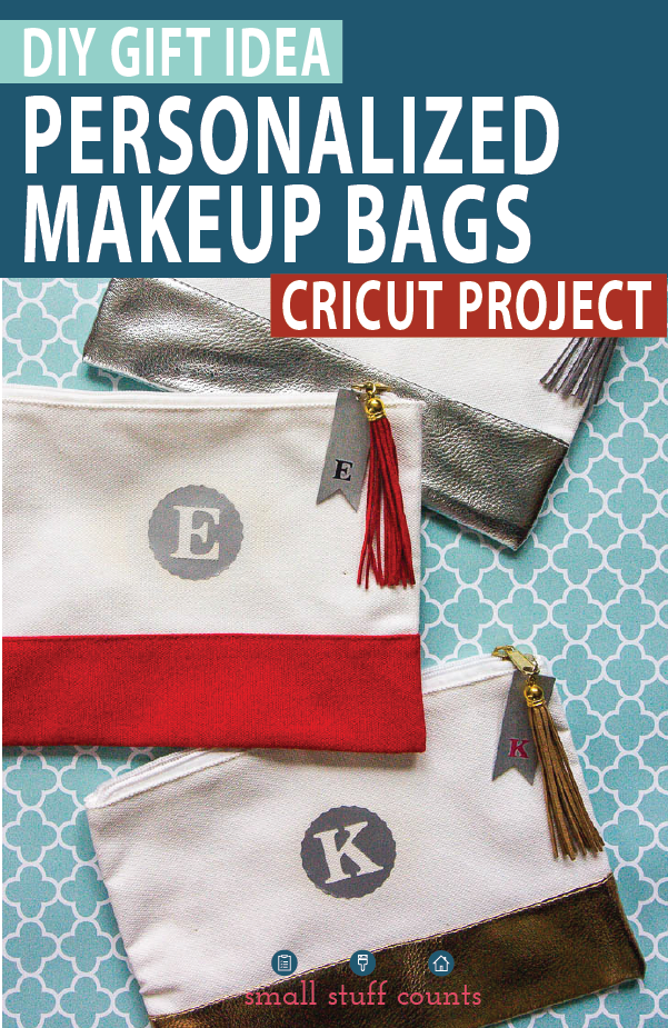 Cricut Makeup Bag