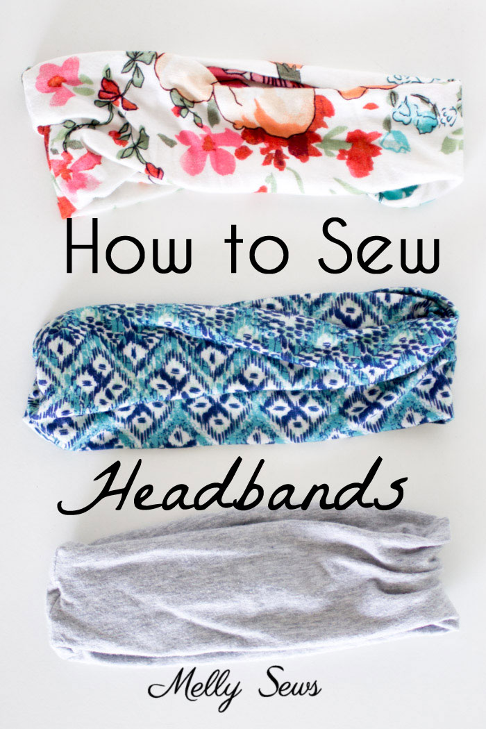 workout headband to sew