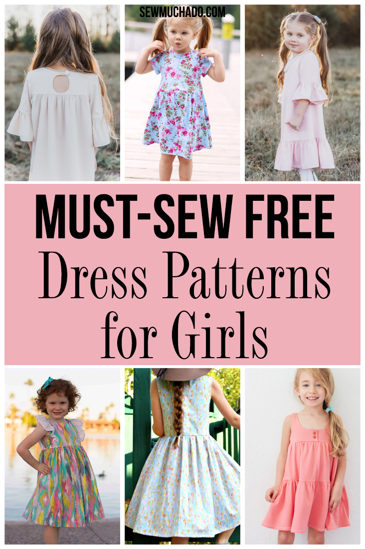 Free Must Sew Dress Patterns For Girls Sew Much Ado