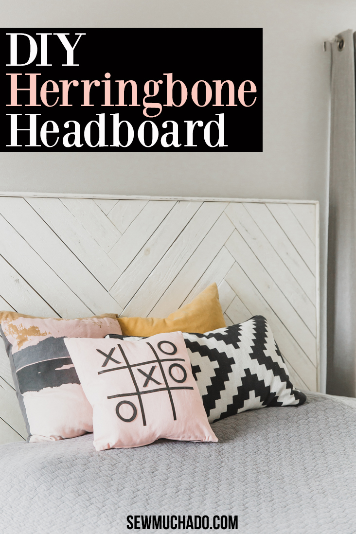 Herringbone Headboard Tutorial