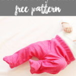 Baby Pants Pattern - Free