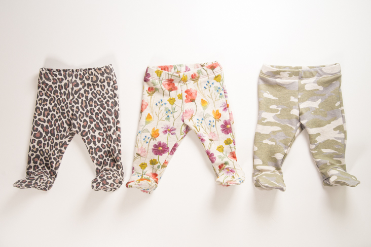 Baby Pants Pattern with Feet