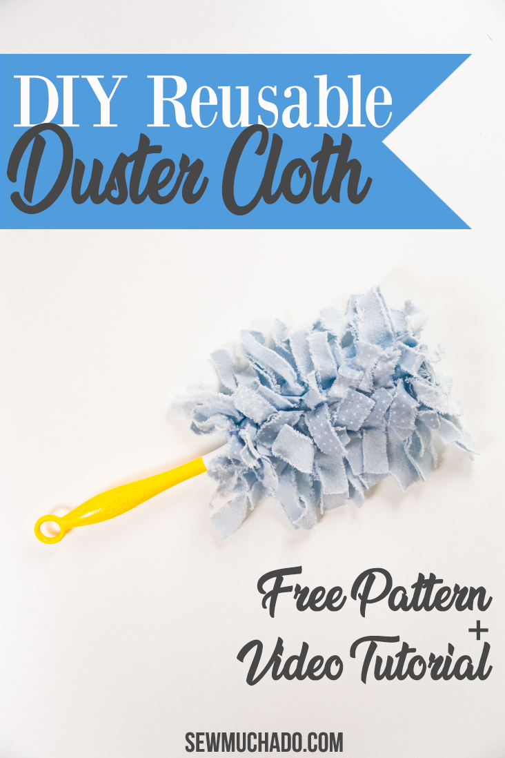 DIY Flannel Duster Cloth