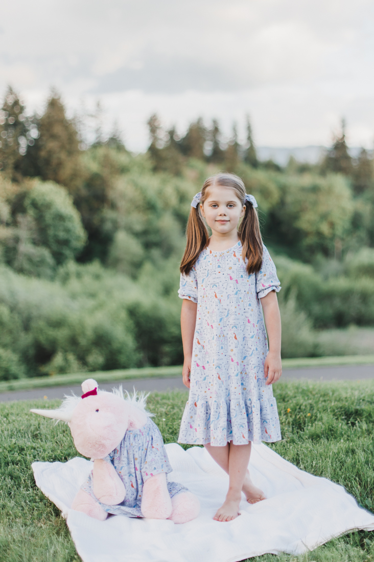 Bellamy Nightgown Pattern for Girls