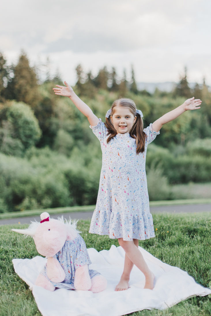 Bellamy Nightgown Pattern for Girls