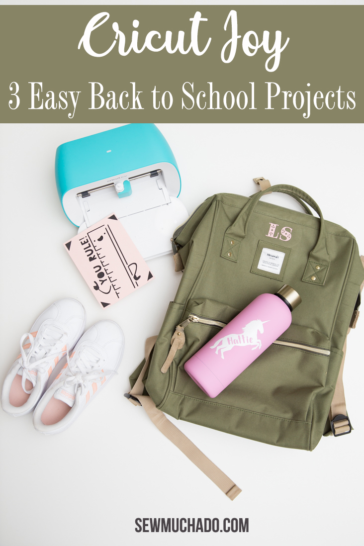 DIY Cricut Joy Easy School Projects