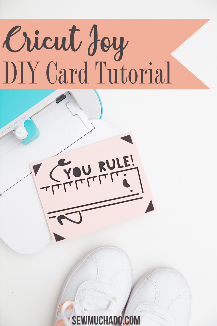 DIY Cricut Joy Card Tutorial