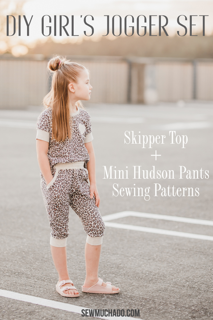 DIY Kid's Jogger Set Patterns