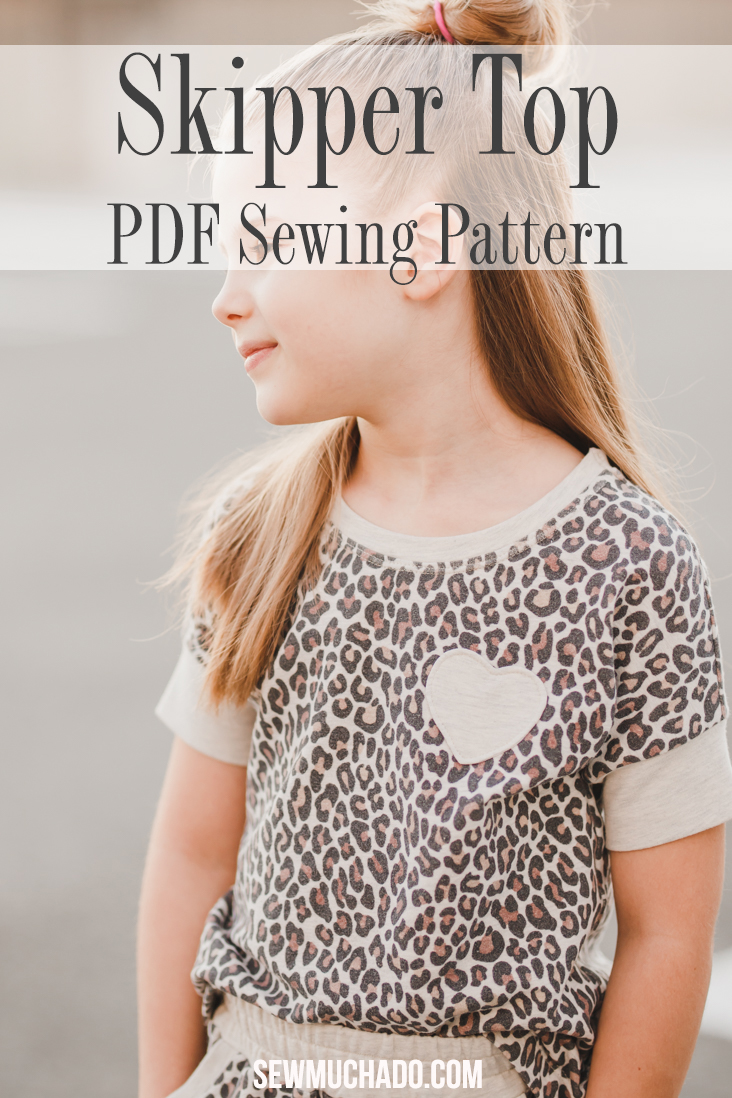 Girl's Dolman Top Pattern