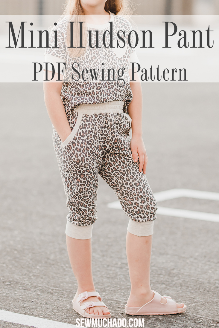 Kid's Jogger Pants Pattern
