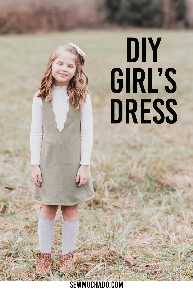 DIY Pinafore Dress