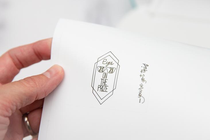 DIY Cricut Graduation Lip Balm Label