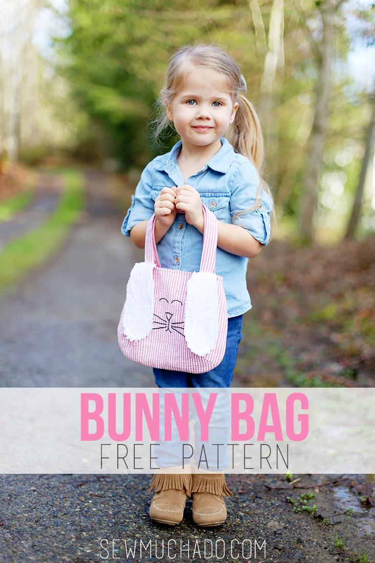 Free Bunny Bag Sewing Pattern