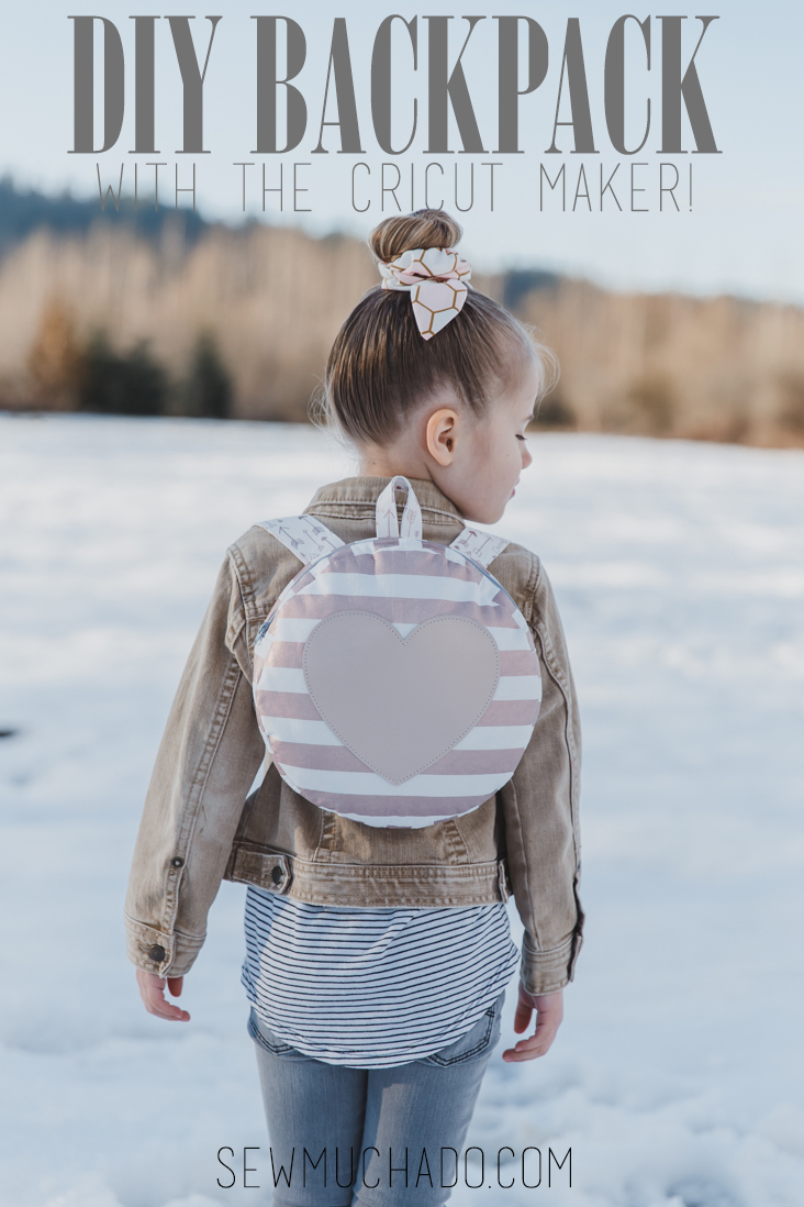 Round Toddler Backpack Pattern